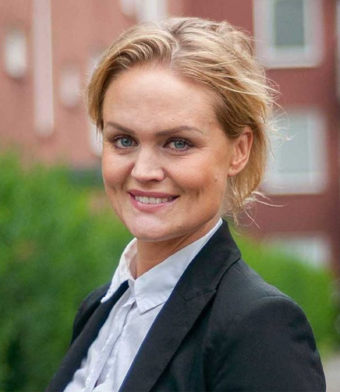 Porträttbild på Karin Göransson